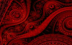 Red Abstract Backgrounds | Abstract red fractal julia background hd wallpaper