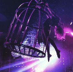 Aerial cage