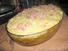 Aprenda a preparar a receita de Torta de Pão de Forma com Requeijão Cremoso