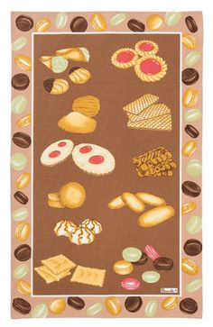 Beauville Patisserie Tea Towel - French Kitchen Towels - I Dream of France