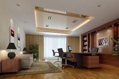 Các mẫu thiết kế nội thất phòng giám đốc hiện đại - Hình 2