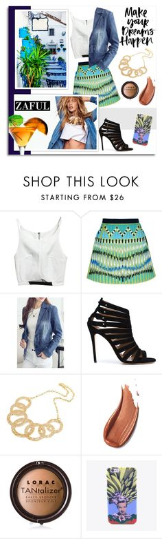 """""""41. www.zaful.com/?lkid=9900"""" by melissa-de-souza ❤ liked on Polyvore featuring Peter Pilotto, ALEXA WAGNER, LORAC and zaful"""