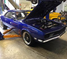 From: hitorqueperformance - Immaculate Camaro in for some repairs. Running a #mastmotorsports ls7 engine with a tremac t56  #htp#tremac#t56#ls7#camaro#hitorqueperformance#streeter#oldschoolcar -  More Info:https://www.instagram.com/p/BNthVA7AG5D/