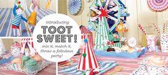Toot sweet party decorations via merimeri