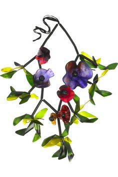 Marni floral necklace