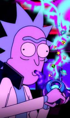 Rick Sanchez, Interdimensional Bong Rick And Morty Poster, Original Image, Fan Art, Wallpapers, Character, Wallpaper, Fanart