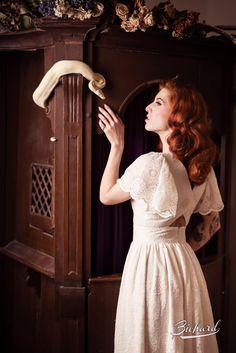 Vintage Inspired Fashion, Fall Winter 2015, White Dress, Bohemian, Style Inspiration, Dresses, Summer 2016, Kleding, Vestidos