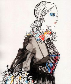 Chanel Spring 2013 RTW by DisintegrationStreet on DeviantArt