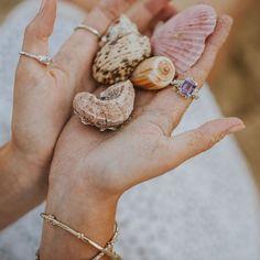"Gold Summer Jewellery on Instagram: ""Mermaid treasures 🧜🏼♀️ . . .  #londonmum #londonlifestyle #londonfashion #effortlessstyle #discoverunder10k #weekendoutfit…"" Amethyst Stone, Purple Amethyst, Natural Forms, Dainty Jewelry, Summer Jewelry, Personalized Jewelry, London Fashion, Handcrafted Jewelry, Stud Earrings"