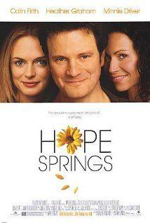 """#Cine La encontré en Hope Springs (2003)  """"Hope Springs"""""""
