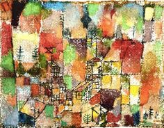 Paul Klee - could you quilt Klee?