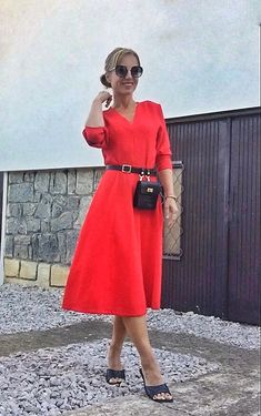 What I Wore, Everyday Fashion, Gucci, Neckline, Sunglasses, Chic, My Style, Vintage, Dresses
