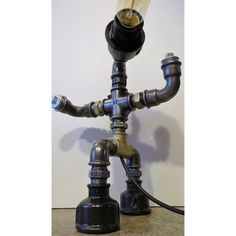 lampaka R-bot 01, industrial table lamp R-bot 01