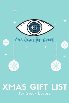Xmas Holiday Gift Ideas inspired by Greece. Check out this list of Greek small businesses, projects and independent artists and share your love for Greece! Greek Gifts, Xmas Holidays, Gift List, Small Businesses, Holiday Gifts, Greece, Lovers, Artists, Gift Ideas