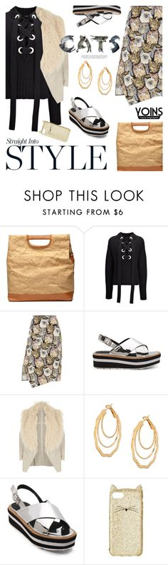 """""""Yoins13: Her claws"""" by bugatti-veyron ❤ liked on Polyvore featuring Joseph, STELLA McCARTNEY, River Island, Kate Spade, yoins, yoinscollection and loveyoins"""