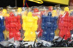 Transformers Lollipop Party Food Idea