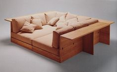LM Loves: Piero De Martini, Model 700 La Barca Sofa, for Cassina, 1975.