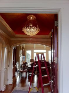oohh - I might just paint the ceiling in my foyer.