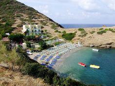 Beautiful Karavostasis beach on Crete, Greece, is also known as Bali!