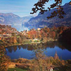 Burgseeli and Lake Brienz, Switzerland
