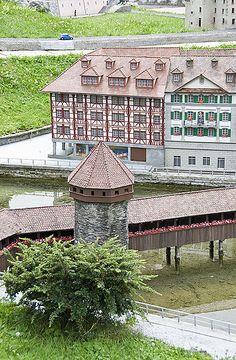 Miniature Park - Melide, Switzerland