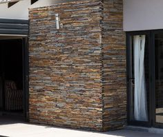 We are importers, suppliers and installers of natural stone cladding, tiles and adhesives offering the highest quality & best prices in the tiling industry. Natural Stone Cladding, Stone Feature Wall, Outdoor Walls, Outdoor Decor, Adhesive Tiles, Water Features, Wall Tiles, Natural Stones, Mountain