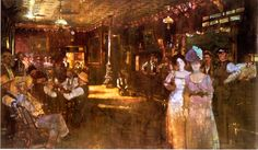Bernie Fuchs, Old Western Saloon, 1978