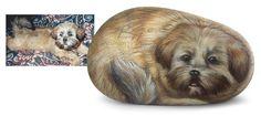 Il tuo cane dipinto su sasso! Creazioni uniche realizzate da Roberto Rizzo, un'idea regalo davvero originale!