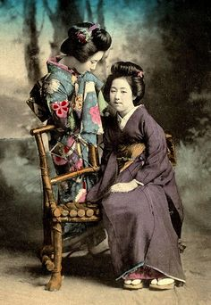 WHISPERING GEISHA -- Or, A Woman's Need for GOSSIP is Like… | Flickr - Photo Sharing!