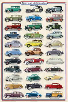 Image from http://www.feenixx.com/Automobiles/posters/B613%20American%20Cars%201930-1939%20116%208x12x72%20rgb.jpg.