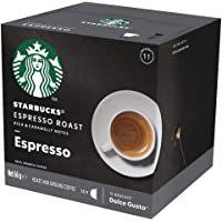 Starbucks Espresso Roast By Nescafe Dolce Gusto Dark Roast Coffee Pods Box Of 12 Capsules 66g 12 Serves In 2021 Starbucks Roast Dark Roast Coffee
