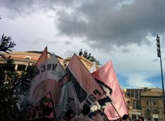 Festeggiamenti per il Palermo in serie A