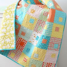 .cute baby quilt..
