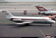 TWA Douglas DC-9-15