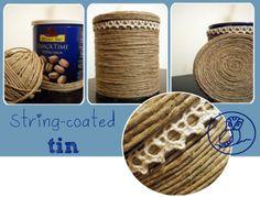 upcycled #string #tin