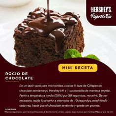 Rocío de chocolate