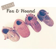 Instagram: littlefoxandhound to purchase some moccs for your littles!!
