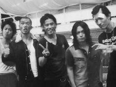 Tatsukawa + Maki + Takiya + Serizawa + Tamura :: Suzuran ::  Crows Zero Japanese Drama, Japanese Boy, Genji Crows Zero, Anime Tattoos, Dark Anime, Drama Movies, Actors & Actresses, Che Guevara, Cinema