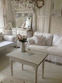 shabby chic weiss romantisch wohnen chic wohnzimmer wohn mobel