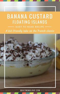 Banana Custard Float