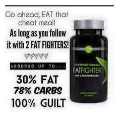 Craving some Burgers?  Pizza?  Hot dogs?  Eat GUILT FREE with our Advanced formula Fat Fighters!!  $23 w/ loyal customer program $39 retail Order yours today !!! www•maggiewraps27100•itworks•com