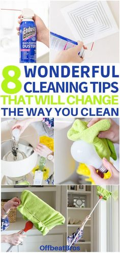 Simple Cleaning Hacks That'll Save You A Ton Of Time (And Money!) Home cleaning hacks. 8 Cleaning tips and tricks to make your house keeping chores a breeze.Home cleaning hacks. 8 Cleaning tips and tricks to make your house keeping chores a breeze. Deep Cleaning Tips, Household Cleaning Tips, House Cleaning Tips, Diy Cleaning Products, Cleaning Solutions, Spring Cleaning, Cleaning Vinegar, Microwave Cleaning, Cleaning Checklist