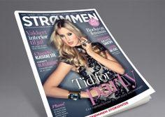 Strømmen magazine by Strømmen Storsenter. Pinned from www. Magazine Design, Cover, Men, Blankets