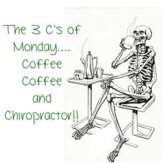Chiropractic - Monday morning. www.lagos-health.com