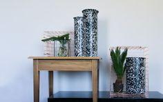 Tube vase, Handmade Industrials