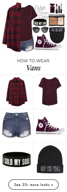 """Untitled #224"" by dzchocolatess on Polyvore featuring Topshop, Aéropostale, WithChic, Converse, Yves Saint Laurent, Vans, Narciso Rodriguez, MAC Cosmetics, Bobbi Brown Cosmetics and women's clothing"