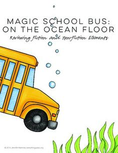 School buses mussels and worksheets on pinterest for Magic school bus ocean floor full episode