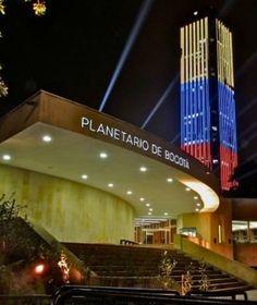 Planetario y Torre Colpatria. Bogotá