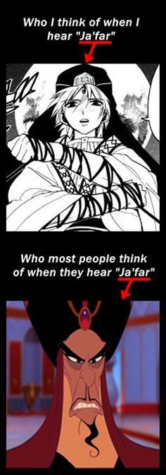 日本語だとジャーファルとジャファーですけどねw