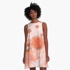 Color Patterns, Flamingo, Coral, Sparkle, Shades, Women's Fashion, Summer Dresses, Printed, Awesome